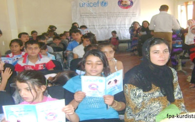 Syrian Refugees Woman & Children Discussion Groups.